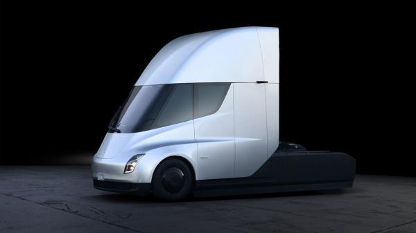 ภายนอกรถบรรทุก Tesla