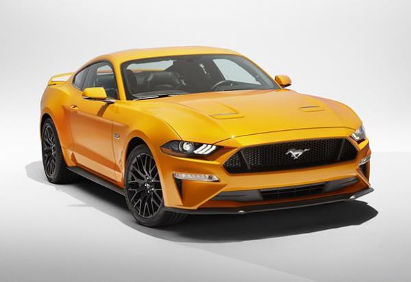 การออกแบบภายนอกของ Ford Mustang GT 2018