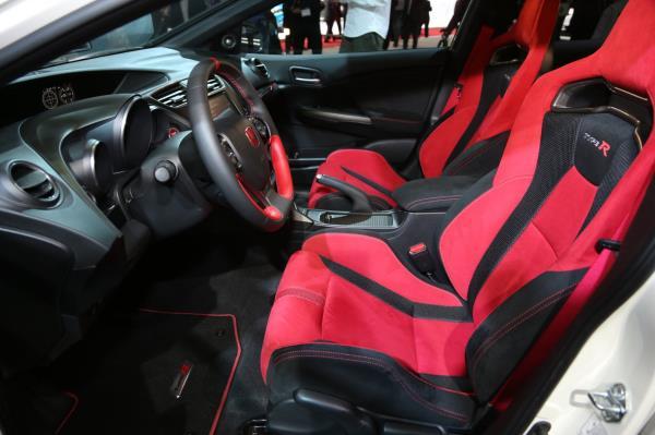 การออกแบบภายในของ Honda Civic Model 2018