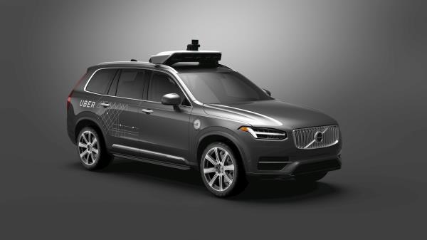 Uber Volvo XC90 Robotaxi
