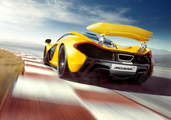 รูปลักษณ์ภายนอกซุปเปอร์คาร์ GTR McLaren P1