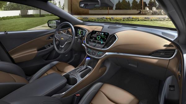 ภายในของ Chevrolet Bolt