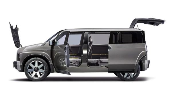 การออกแบบ Toyota TJ Cruiser