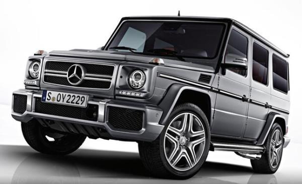 SUV รุ่นใหญ่ อันดับที่ 4 เมอร์เซเดส-เบนซ์ G63 เอเอ็มจี (Mercedes-Benz G63 AMG)