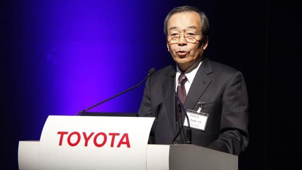 Takeshi Uchiyamada ประธานแห่ง Toyota