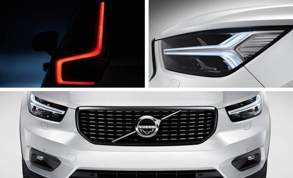 มุมมองภายนอกของ Volvo XC40 ทั่วยุโรปในไม่ช้านี้