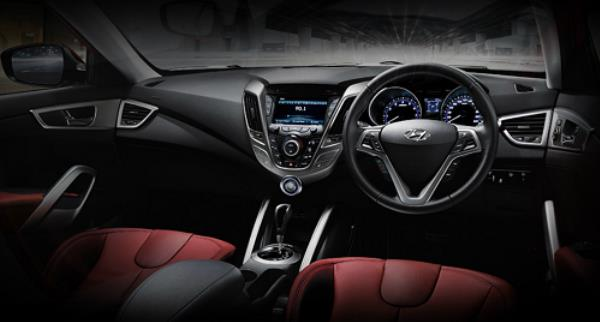 INTERIOR ภายใน Hyundai Veloster