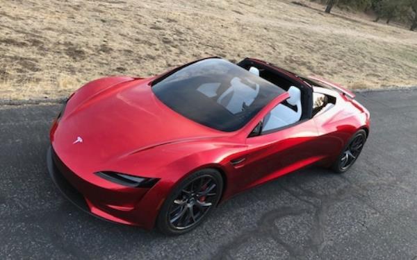 Tesla Roadster เปิดประทุน