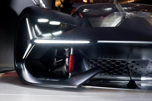 รูปลักษณ์ความดุดันของซุปเปอร์คาร์ ค่ายกระทิงดุ Lamborghini Terzo Millennio Concept