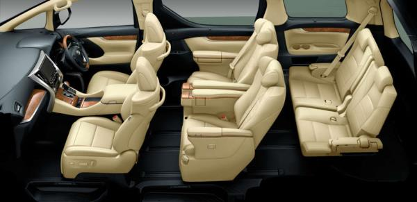 Toyota Alphard 2018 interior leather seats