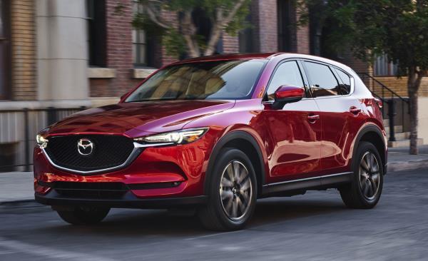 Mazda CX-5 ปี 2018 โฉมใหม่ รถ SUV ขนาดคอมแพคท์ 5 ที่นั่ง