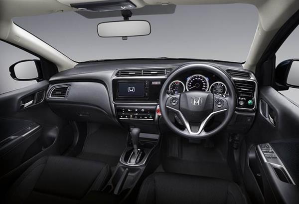 Honda City 2017 interior