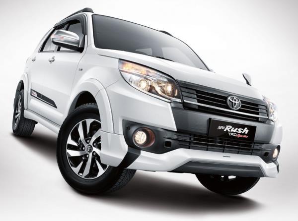 รูปลักษณ์ Toyota Rush 2018 โฉมใหม่ เปิดตัวอินโดนีเซีย