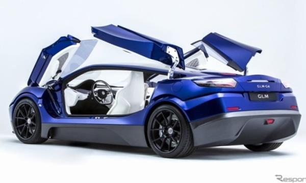 รถยนต์ Super Car พลังงานไฟฟ้า