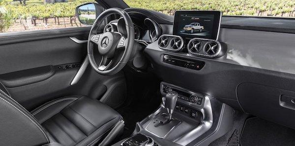 ภายใน Mercedes-Benz X-Class 2018 ใหม่