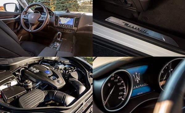 ห้องโดยสารของ Maserati Levante 2017 ใหม่