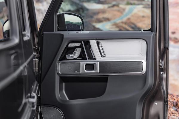 Mercedes-Benz G-Class 2018 ใหม่ หรูหราและทันสมัย