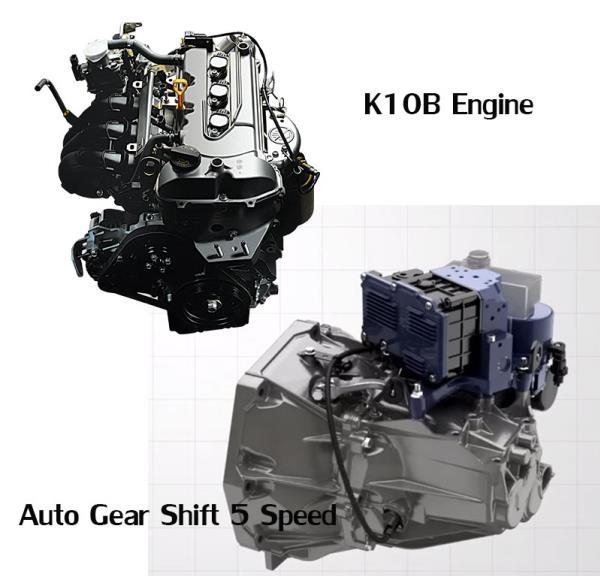 เครื่องยนต์ Suzuki Celerio X 2018 ใหม่