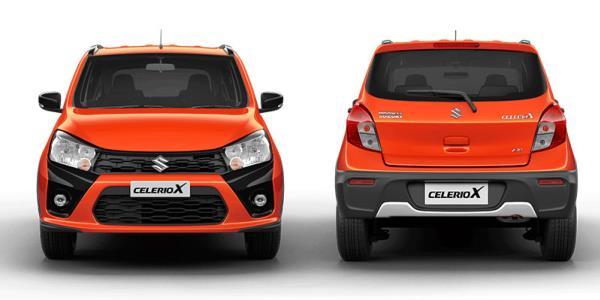รูปลักษณ์ภายนอกของ Suzuki Celerio X 2018