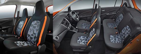 รูปลักษณ์ภายในของ Suzuki Celerio 2018 ใหม่