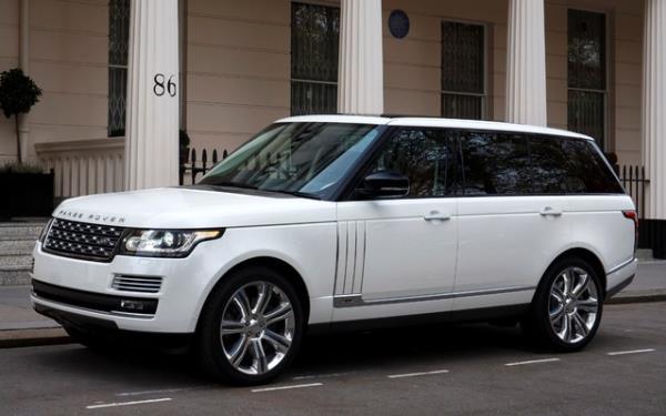 ราคา แลนด์โรเวอร์เรนจ์โรเวอร์ Land Rover Range Rover