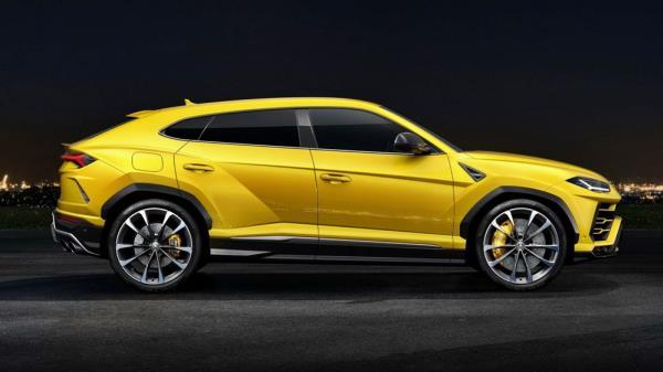 รูปลักษณ์ภายนอกของ Lamborghini Urus 2018