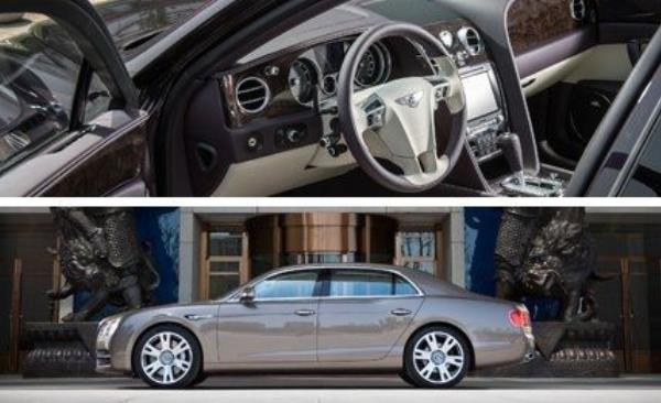Bentley Flying Spur V8 2014