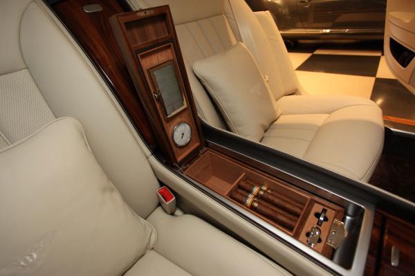 Bentley Flying Spur ช่องเก็บ Cigar