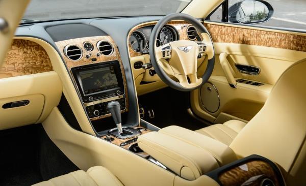 Bentley Flying Spur V8 Standard Interior ตกแต่งลายไม้แบบ Euro spec