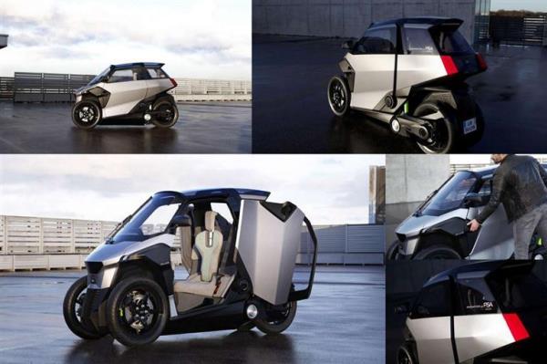 ออกแบบภายใต้แนวคิด Efficient Urban Light Vehicle