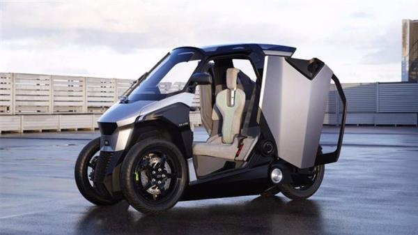 PSA GROUP เผยต้นแบบรถยนต์ 4 ล้อเล็ก Plug-in Hybrid