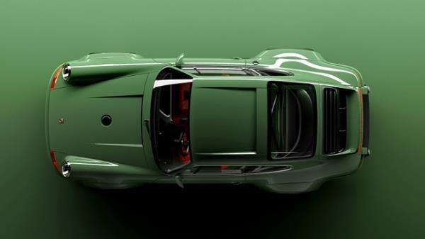 Singer Porsche 911 การออกแบบใช้ Concept ลดน้ำหนักที่ไม่จำเป็น