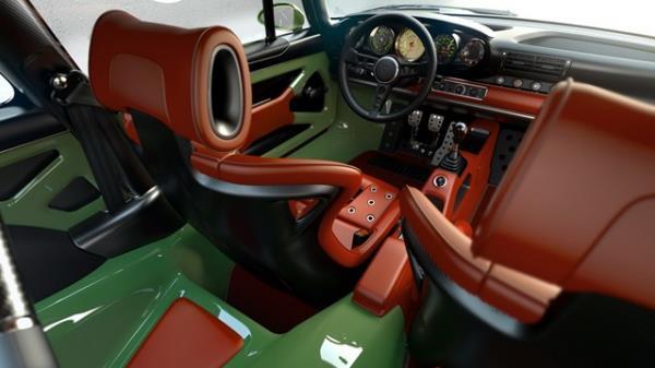 Singer Porsche 911 Interior