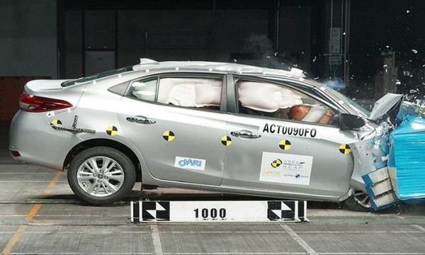 Toyota Yaris และ Toyota Vios ใหม่ คว้ามาตรฐานความปลอดภัยระดับ 5 ดาว จาก ASEAN NCAP