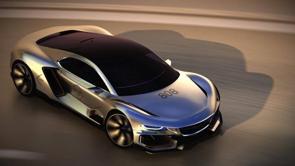 สปอร์ตสัญชาติสวีเดน ไร้คนขับ AiroX Autonomous Concept