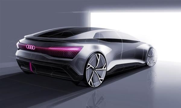 รถยนต์พลังงานไฟฟ้า Audi E-Tron GT
