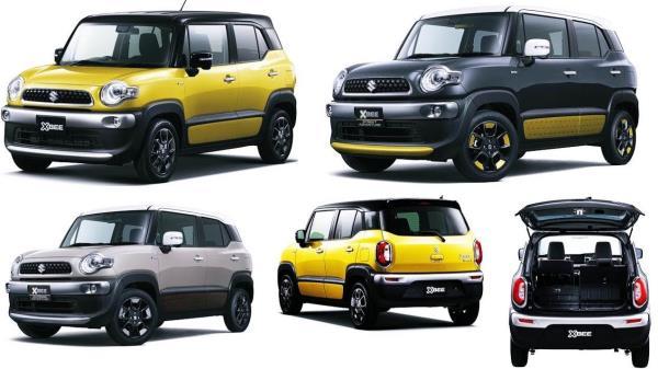 Suzuki Xbee 2018 ใหม่! ครอสบี