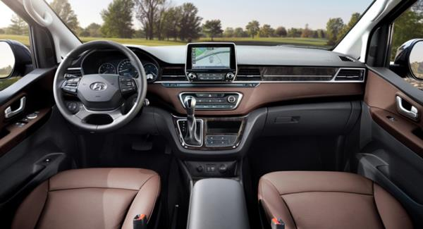 ภายใน Hyundai Grand Starex/H-1 2018