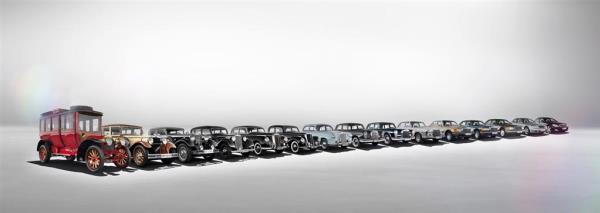 พัฒนาการของ Mercedes-Benz ในช่วงระยะเวลาเกือบ 100 ปี ตั้งแต่ 1931