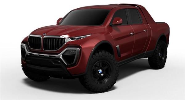 BMW PICKUP TRUCK CONCEPT รถกระบะต้นแบบของนักออกแบบอิสระ
