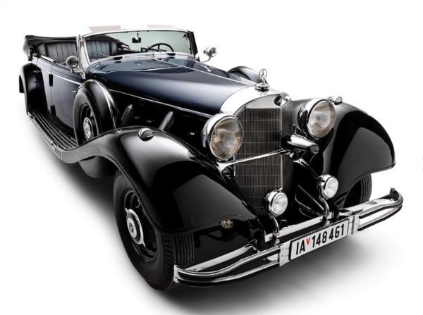 เปิดประมูล Mercedes-Benz 1939 770K Grosser Offener Tourenwagen รถยนต์ของ Adolf Hitler