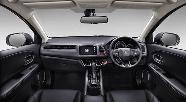 อุปกรณ์อำนวยความสะดวกล้ำสมัย  Honda HR-V 2017