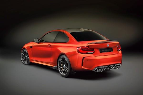 รูปลักษณ์ภายนอก BMW Competition M2  2018 โฉมใหม่