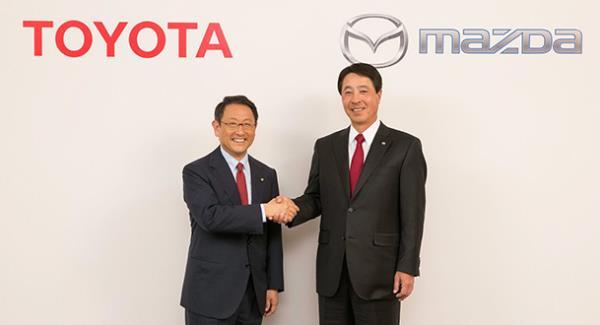 Toyota จับมือ Mazda ตั้งโรงงานใหม่ร่วมกันในสหรัฐอเมริกา พร้อมพัฒนาเทคโนโลยีรถไฟฟ้าร่วมกัน