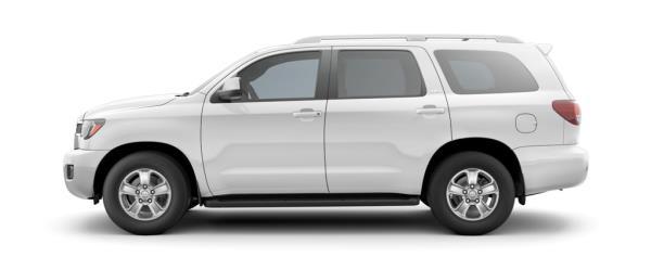 ภายนอก Toyota SEQUOIA SUV รุ่นปรับโฉมปี 2018