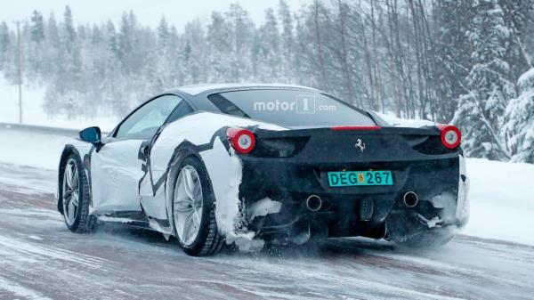ภาพ Spyshot ชุดใหม่ที่ถูกปล่อยออกมาของ Ferrari 488 GTO