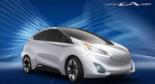 รถยนต์ไฟฟ้ารุ่น CA-MiEV