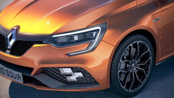 รูปลักษณ์ภายนอก Renault Megane RS