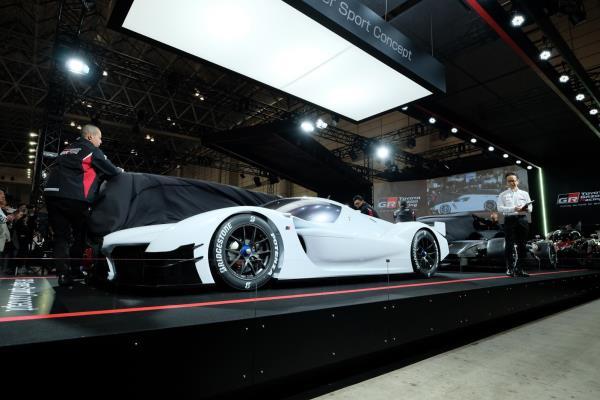 Toyota GR Super Sport Concept ไฮเปอ์คาร์ไฮบริด อวดโฉม Tokyo Auto Salon 2018
