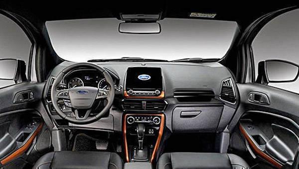 ดีไซน์ภายใน Ford EcoSport Storm 2018